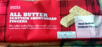 All butter Scottish shortbread fingers - Product