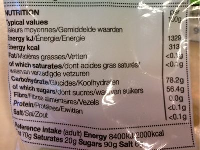 Veggie Colin - Informations nutritionnelles
