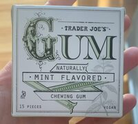 Gum naturally mint flavored - Product - en