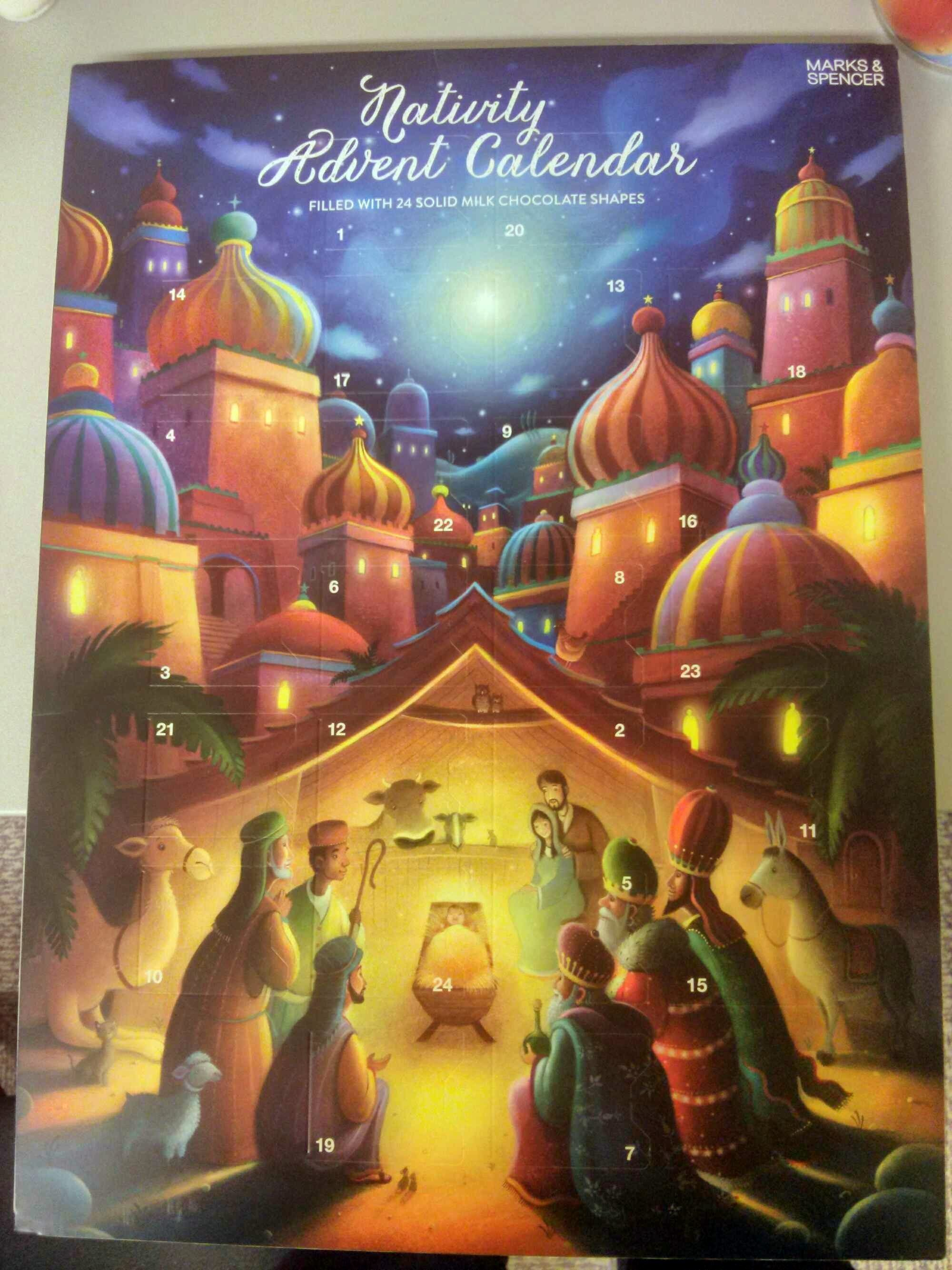 Nativity Advent Calendar - Produit - fr