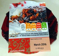 Christmas Pudding - Product