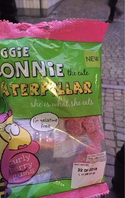 Veggie connie the cute caterpillar - Product