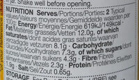 Korma - Nutrition facts - en