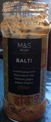 Balti - Produit
