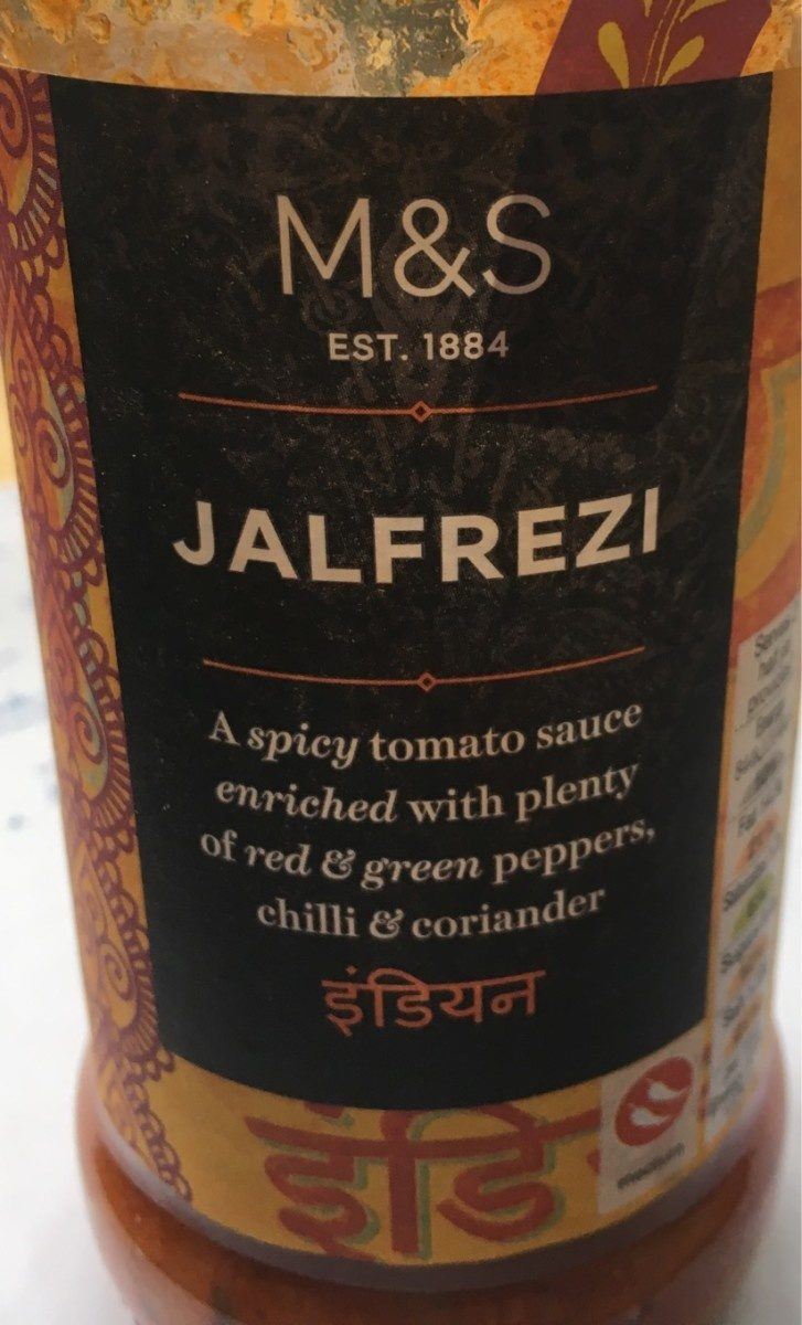 Jalfrezi Sauce - Produit - fr