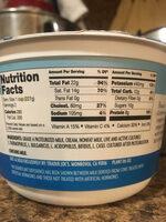 Trader Joe's Greek yogurt plain - Nutrition facts