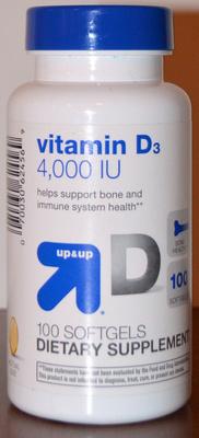up&up Vitamin D3 4,000 IU - Product