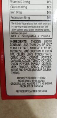 Best choice chicken broth - Ingredients