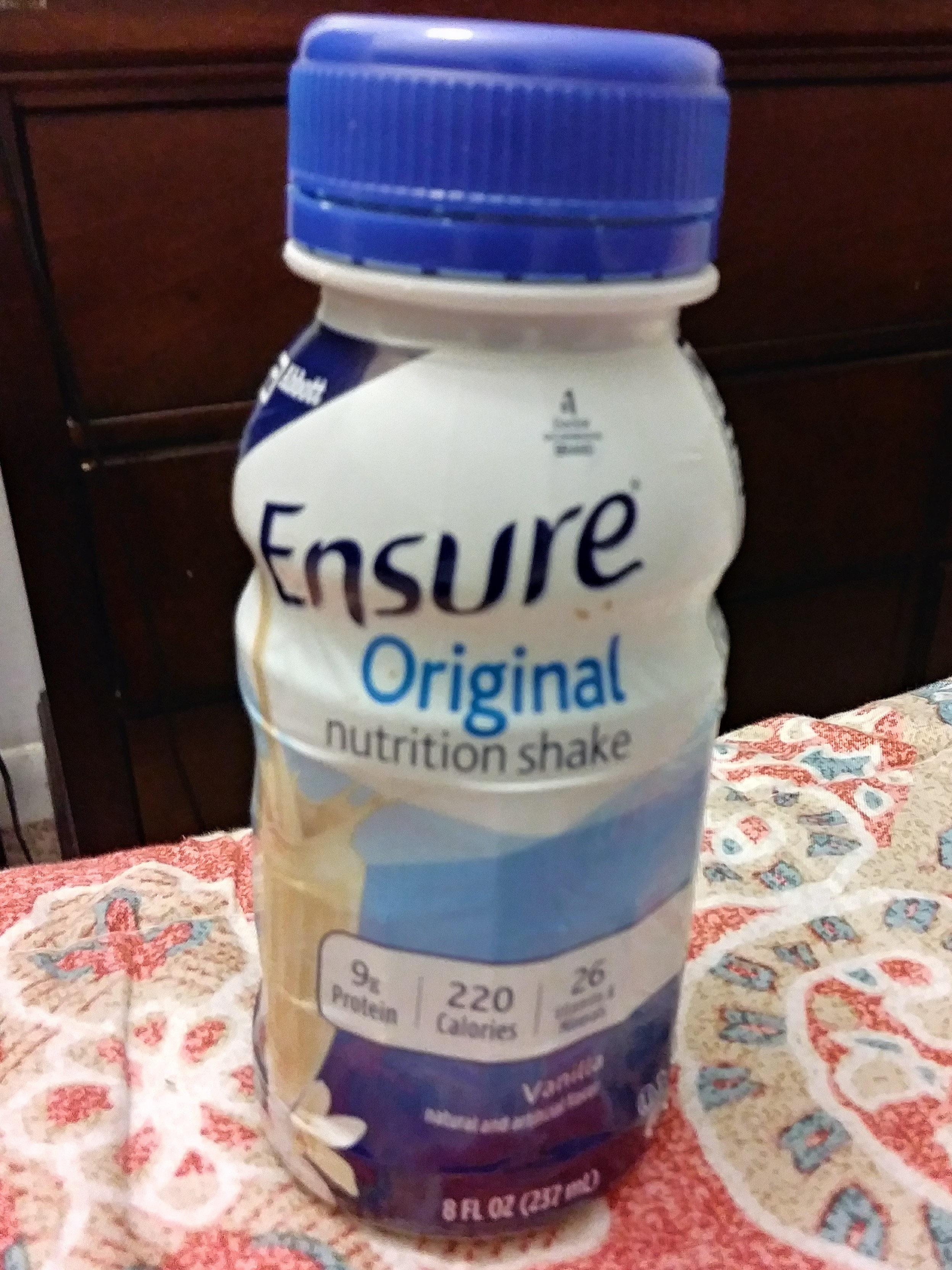 Original nutrition shake - Product - en