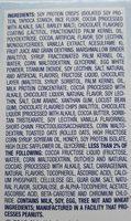 Glucerna Nutrition Bars Crispy Delights Chocolate Chip - 4 CT - Ingrediënten