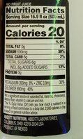Apple pedialyte - Nutrition facts - en