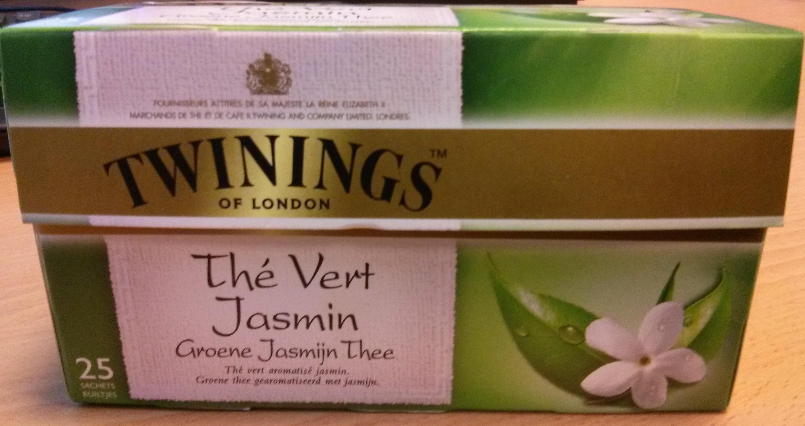 Thé vert au Jasmin Twinings - Product