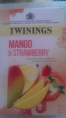 Mango & Strawberry tea - Product