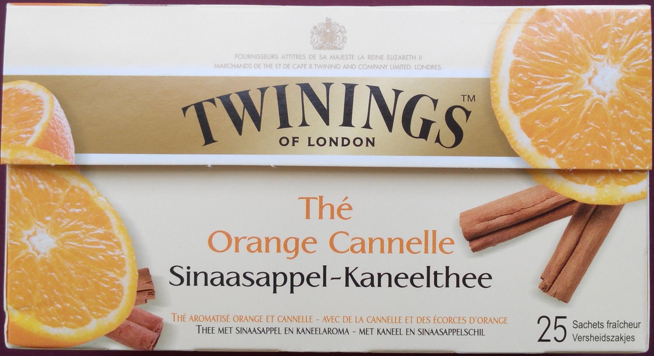 Thé Orange Cannelle - Product - fr