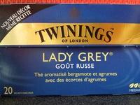 Lady grey Goût russe - Product - fr