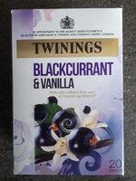 Blackcurrant & Vanilla - Product