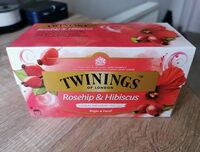 Twinings Rosehip & Hibiscus - Product - it