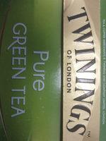 Twinings Pure Green Tea - نتاج - en