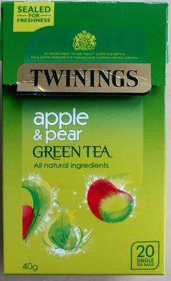 Twinings apple & pear green tea - Product