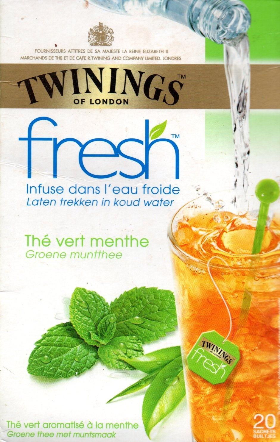 Twinings fresh thé vert menthe - Product