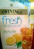 Twinings fresh thé vert citron - Produit