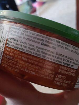 caramel dip - Ingrédients - en