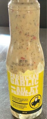 parmasean garlic sauce - Product - fr
