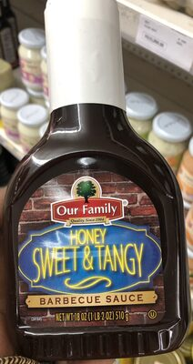 Honey sweet & tangy barbecue sauce - Product - en