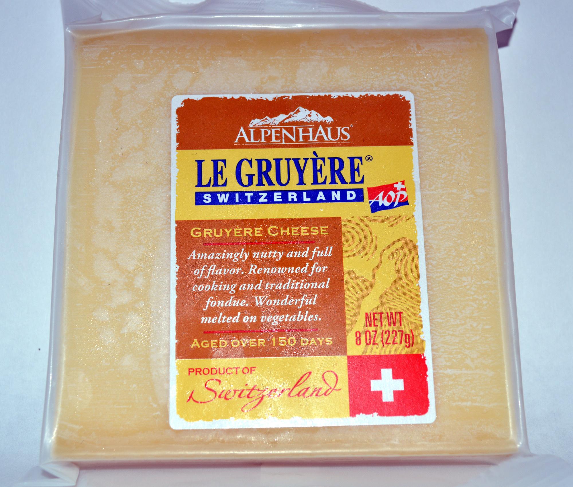 Alpenhaus, le gruyere switzerland + aop, gruyere cheese - Product - en