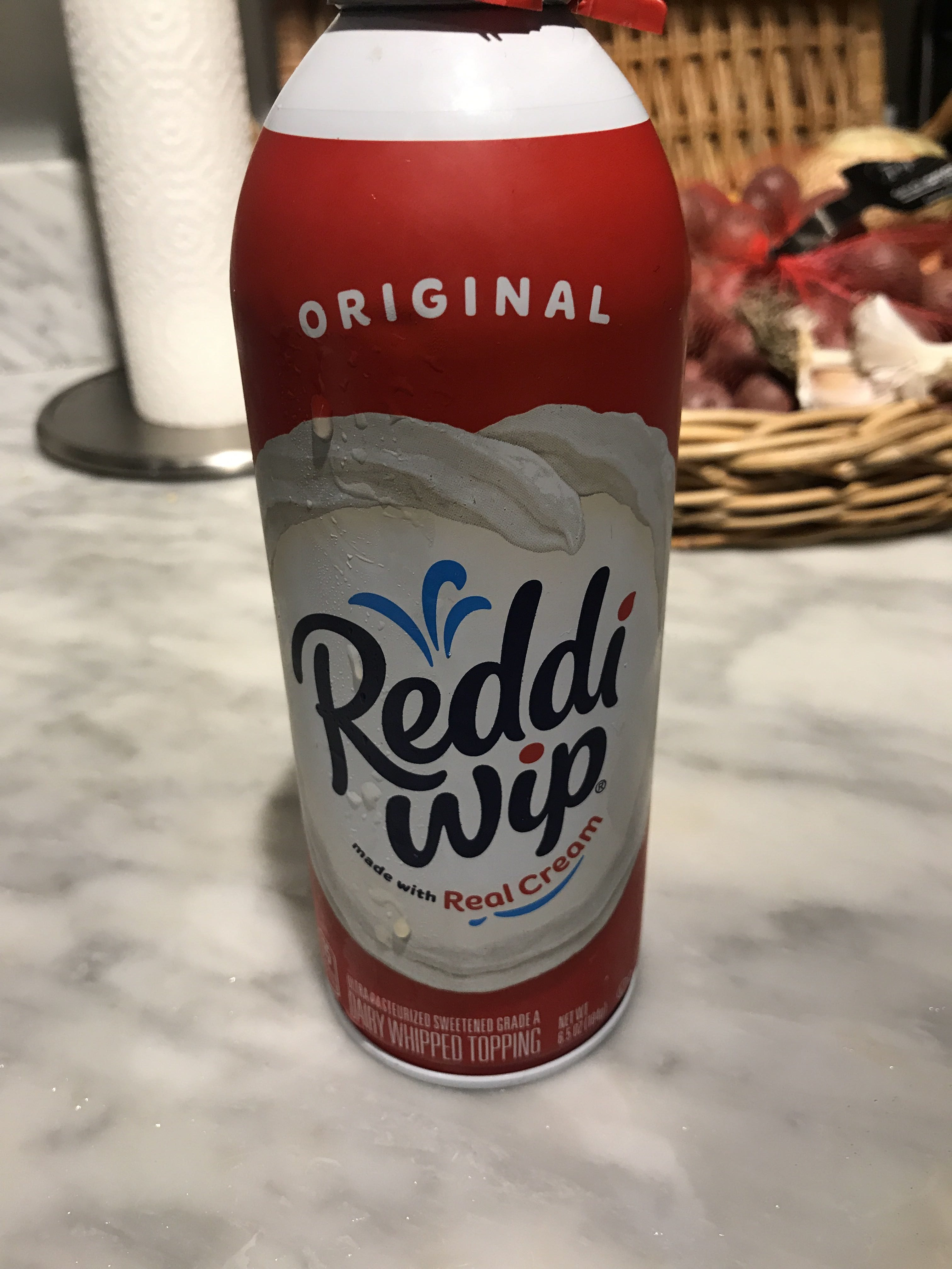 REDDI WIP Real Cream Whipped Topping, 6.5 OZ - Product - en