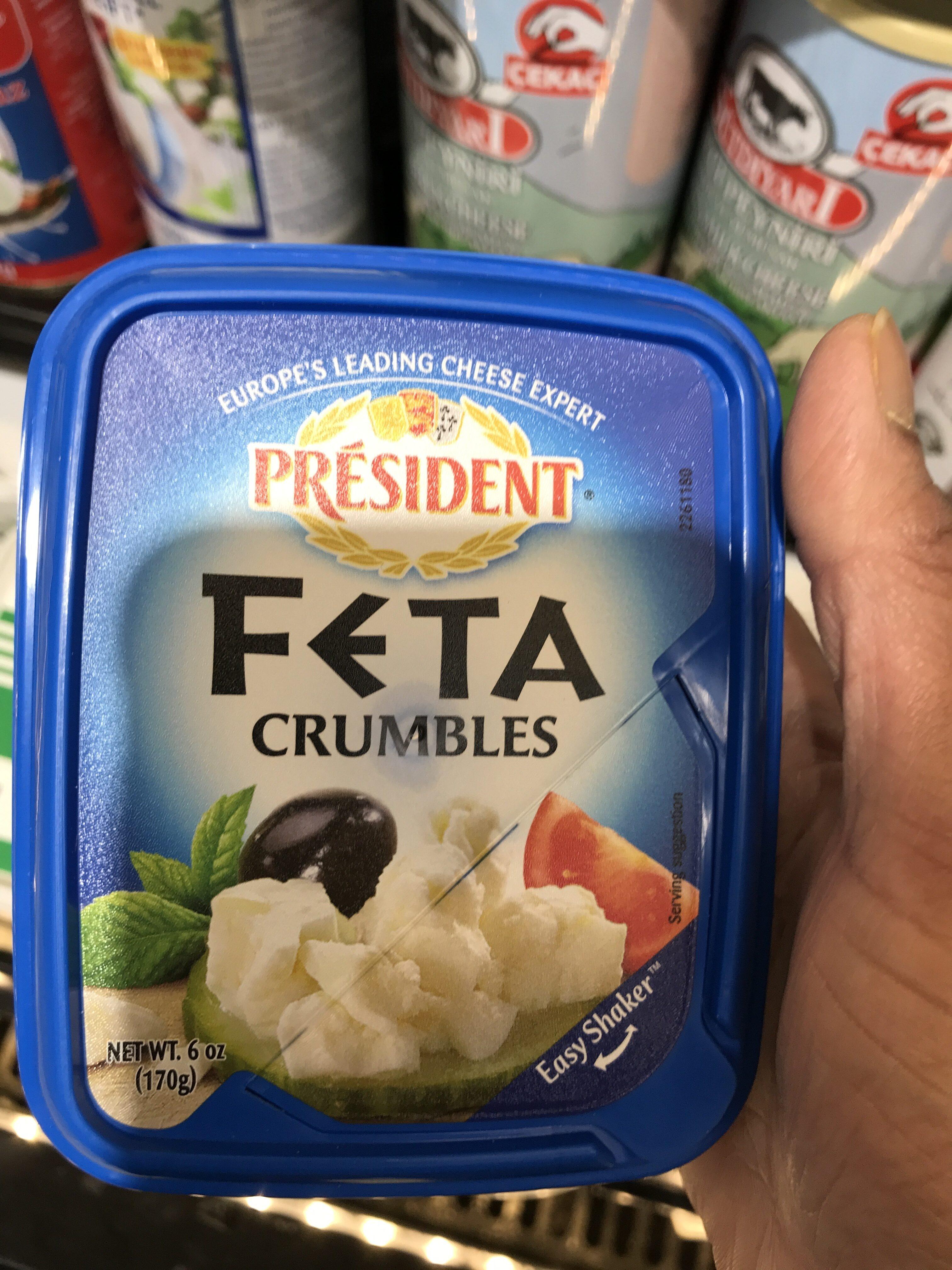 Crumbled Feta Cheese - Produit - en