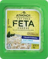 Fat free crumbled feta cheese - Product - en