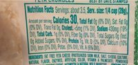 Fat free crumbled feta cheese - Nutrition facts - en