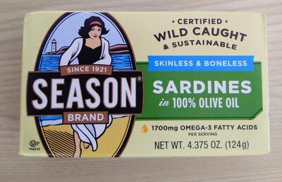 Sardines in olive oil - Product - en