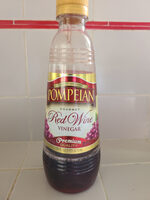 Red wine vinegar, red wine - Produit - en