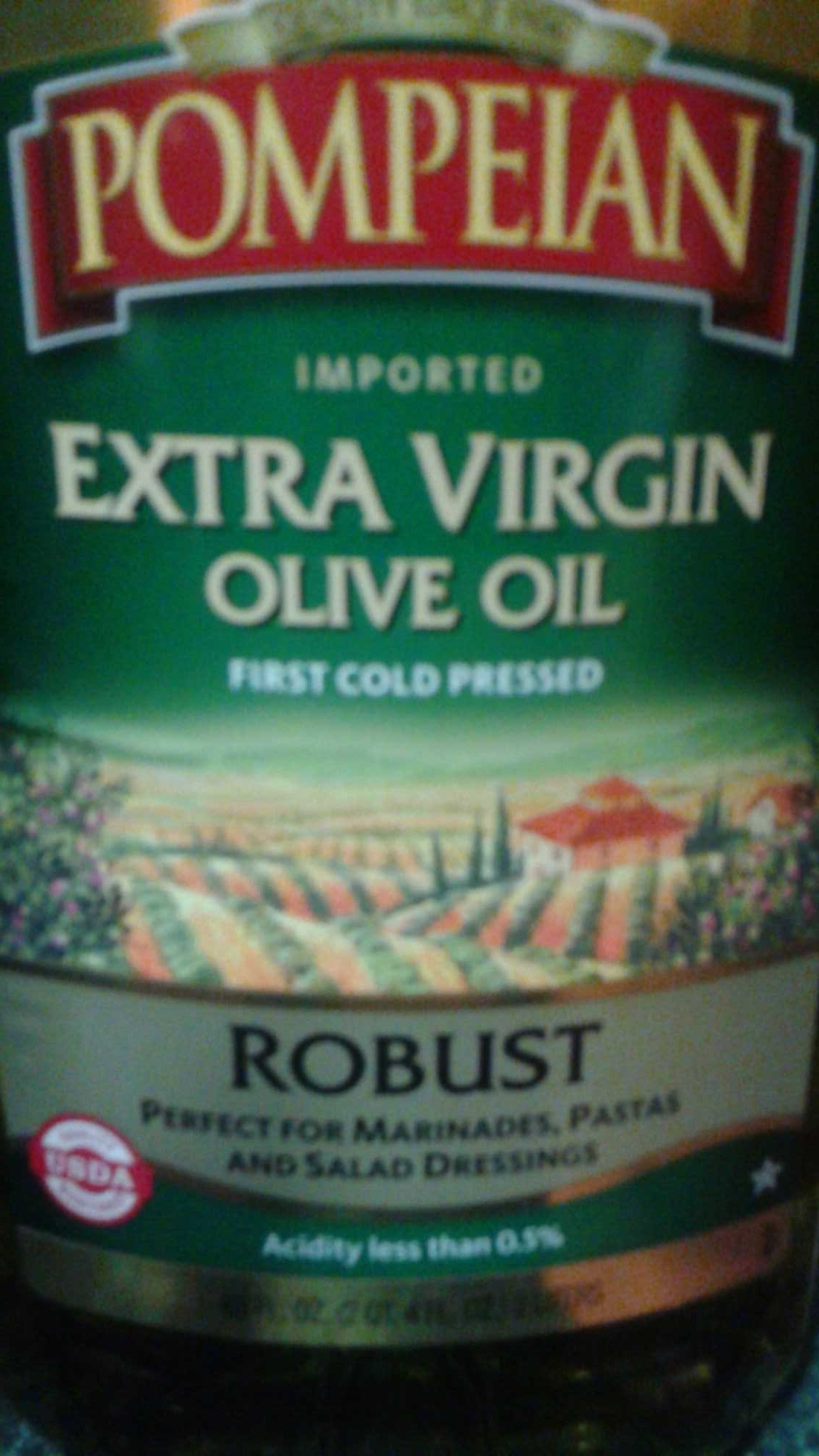 Extra Virgin Olive Oil, Robust - Product
