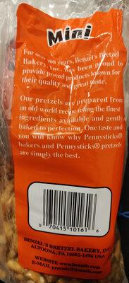 Pennysticks Brand Mini Pretzels - Product - en