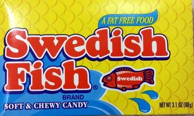 Swedish fish soft candy berry fat free12x3.1 oz - Product - en