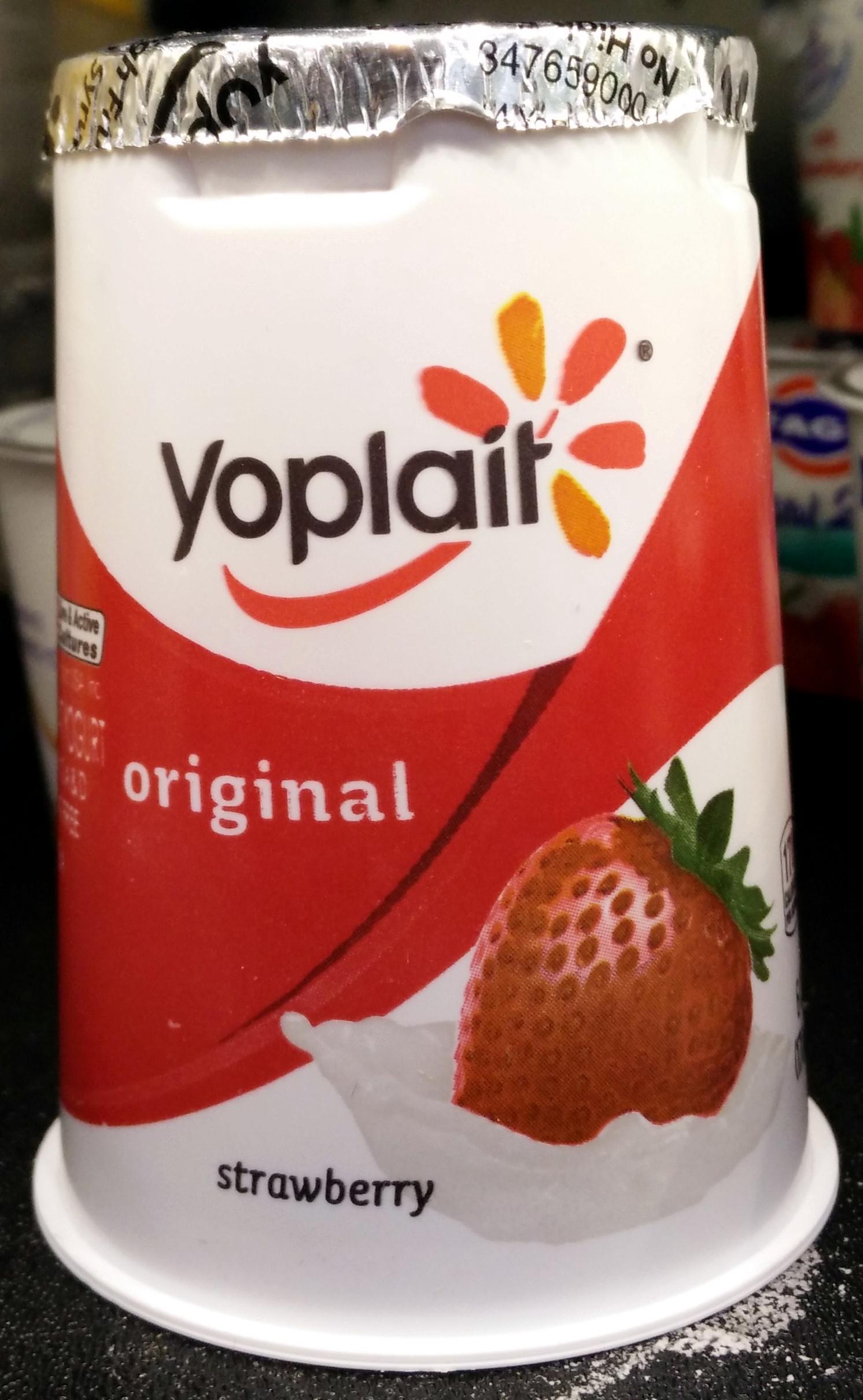 Yoplait Original Strawberry Low Fat Yogurt - Product - en