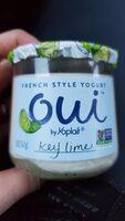 Key lime french style yogurt - Product - en