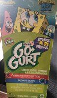 Go gurt spongebob squarepants low fat yogurt - Product