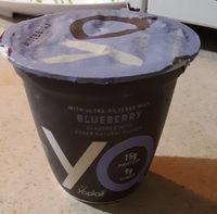 YQ by Yoplait Blueberry Yogurt-Made with Cultured Ultra-Filtered Milk - Product - en