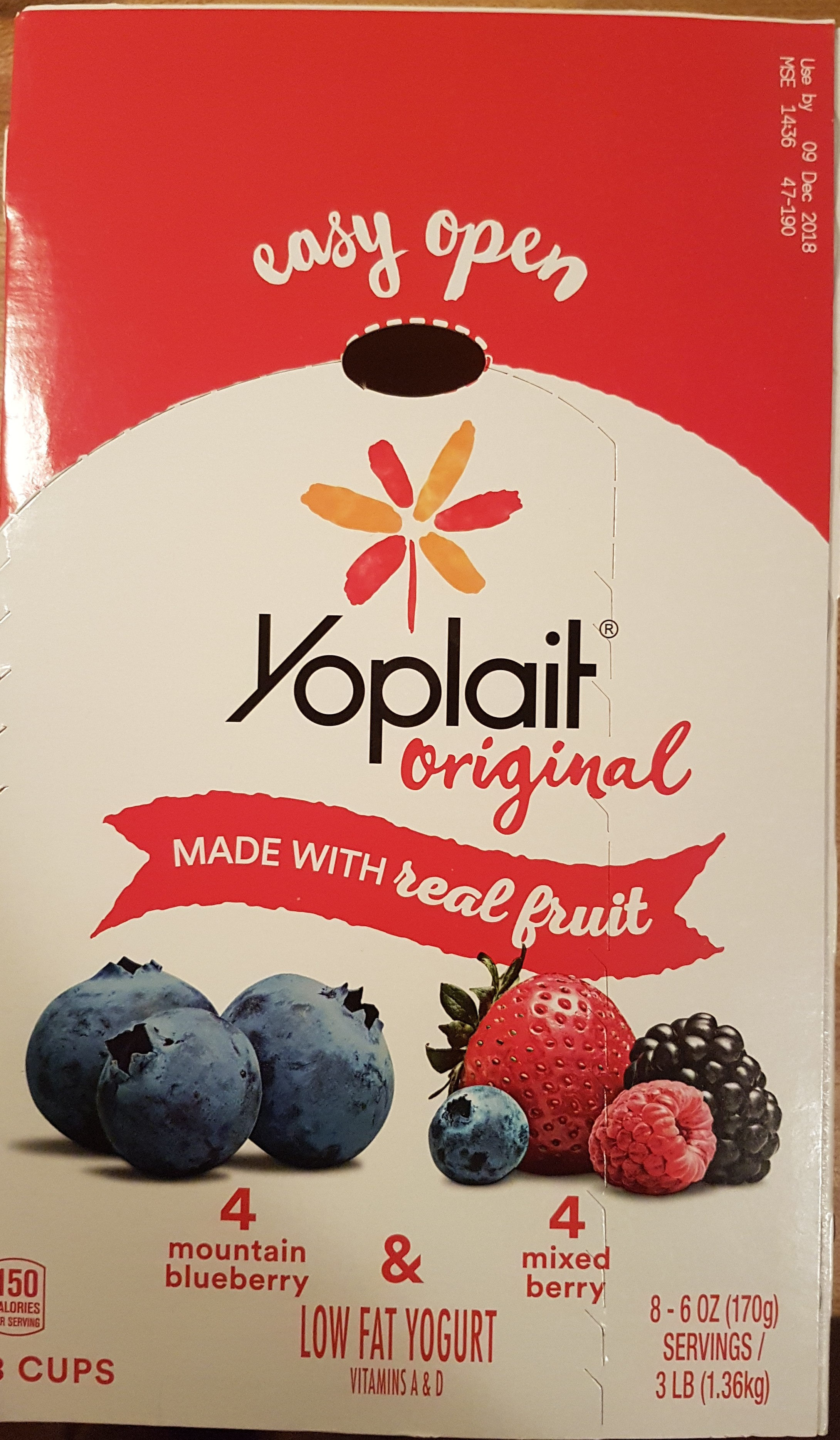 low fat yogurt - Product