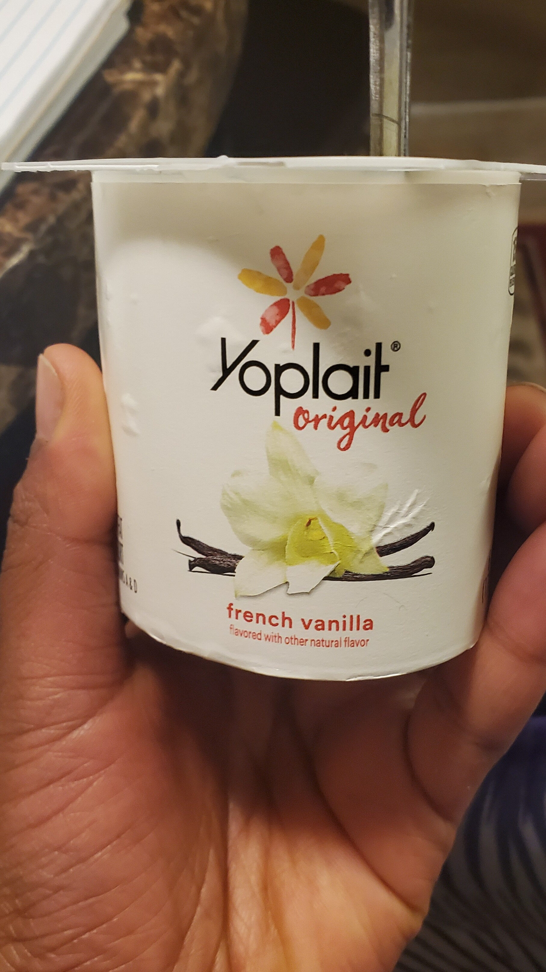 Yoplait Original French Vanilla Low Fat Yogurt - Product - en