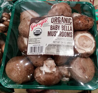 Organic Baby Bella Mushrooms - Product