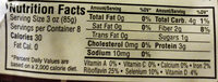 Organic Baby Bella Mushrooms - Nutrition facts