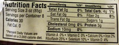 Organic Baby Bella Mushrooms - Nutrition facts - en