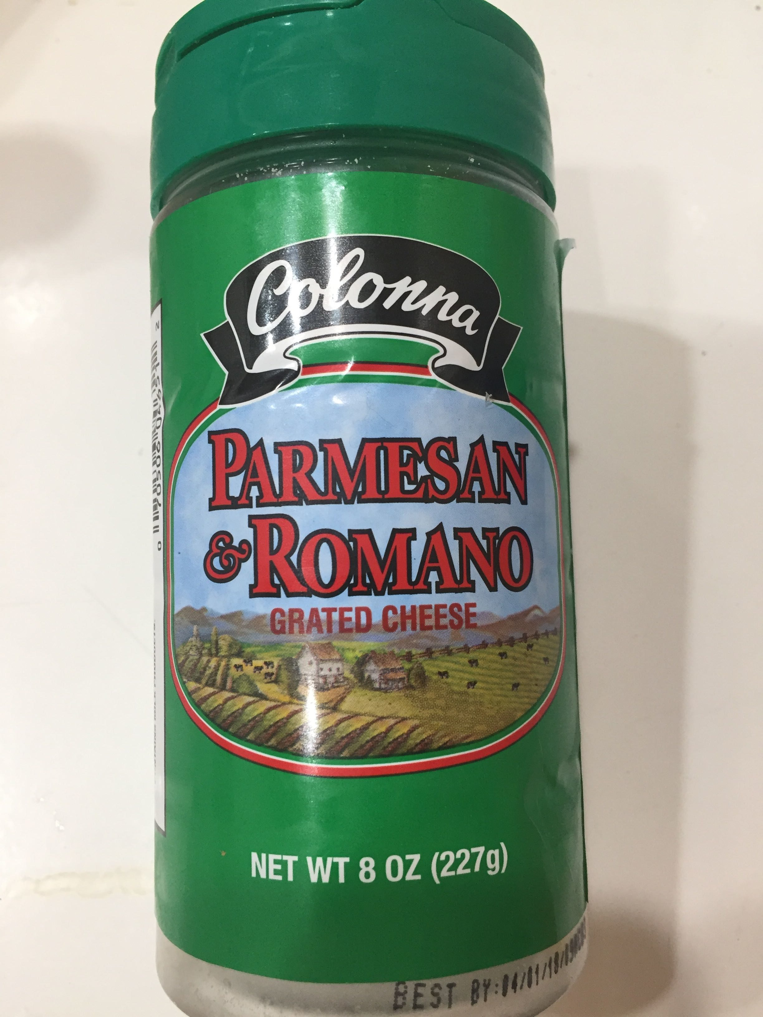 Parmesan & Romano Cheese - Product - en