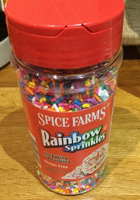 Spice farms, rainbow sprinkles - Product - en