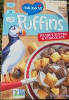 Peanut butter & chocolate cereal - Product - en